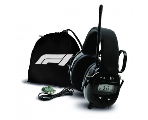Casque radio officiel Formula 1